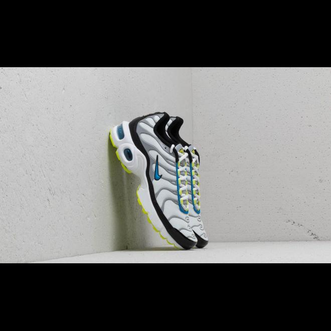 Nike Air Max Plus (GS) White/ Photo Blue-Cyber