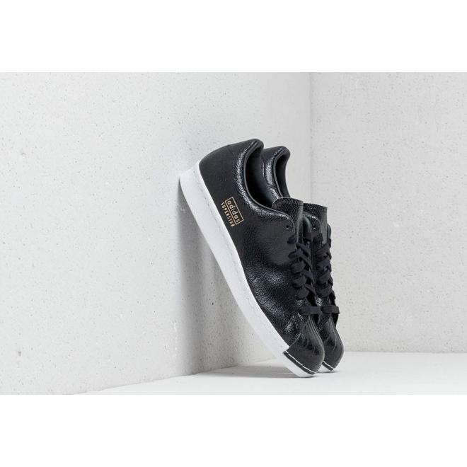 adidas superstar clean black