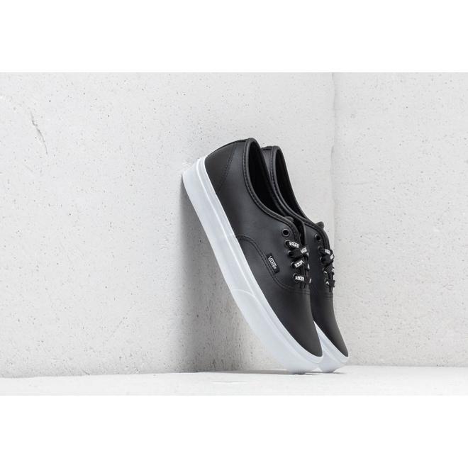 Vans Authentic (Otw Webbing) Black/ Leath