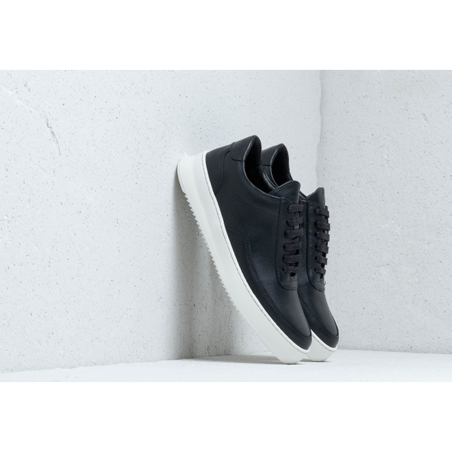 Filling Pieces Low Mondo Ripple Nardo Nappa Black 245262318610