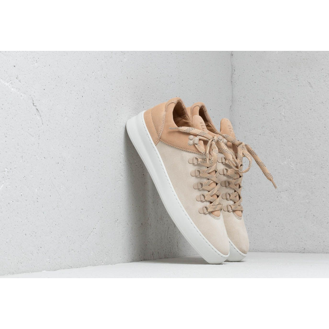 Filling Pieces Mountain Cut Plain Cape Suede Beige