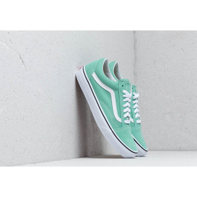 Vans Old Skool Neptune Green/ True White