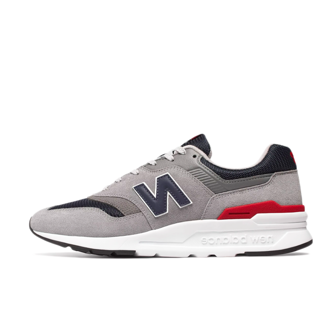 New Balance 997 Grey/ Navy/ Red/ White