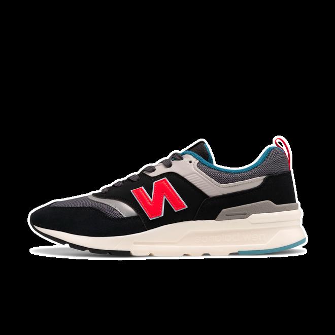 New Balance 997 Black/ Red/ Grey/ White CM997HAI