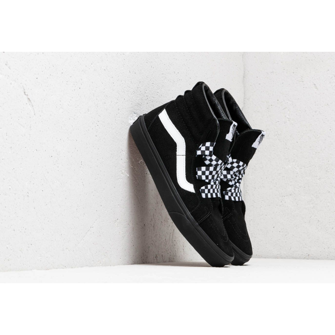 Vans SK8-Hi Alt Lace (Check Wrap) Black/ Black