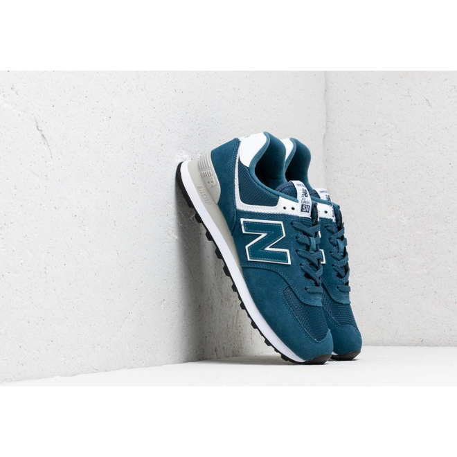 New Balance 574 Blue/ White/ Grey
