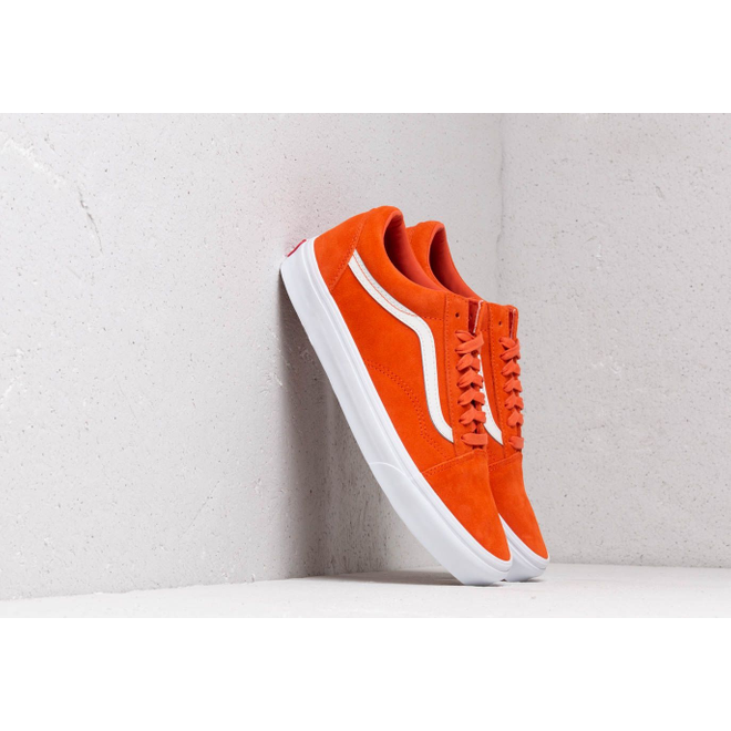 Vans Old Skool (Soft Suede) Koi/ True White