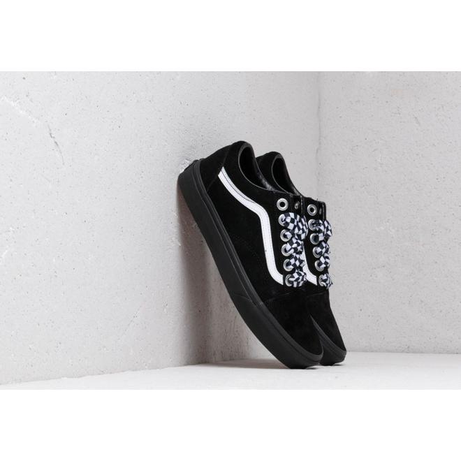 Vans Old Skool (Check Lace) Black/ Black