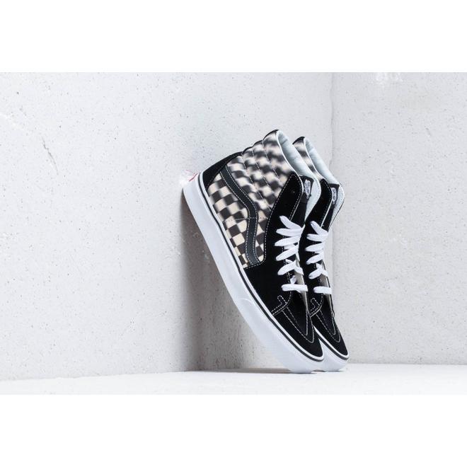 Vans SK8-Hi (Blur Check) Black/ Classic