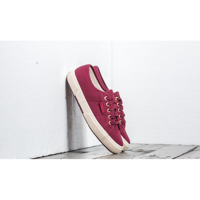 Superga 2750 Cobinu Bordeaux-Rose Gold