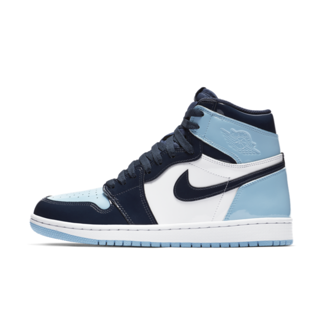 Air Jordan 1 WMNS Retro High OG 'UNC Patent Blue' | CD0461-401