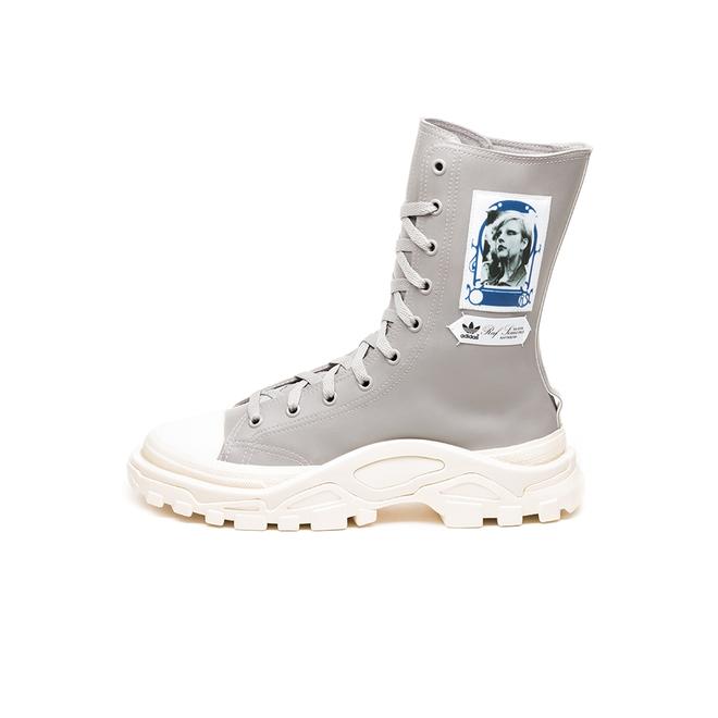 adidas x Raf Simons Detroit High (Light Granite / Ftwr White / Clear W