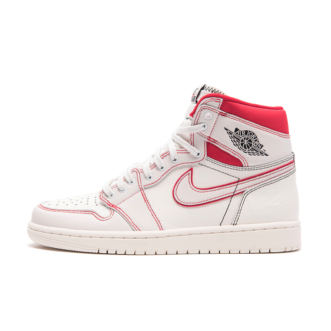 Air Jordan 1 'Sail University Red'