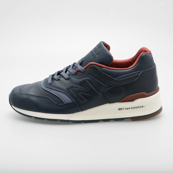 New Balance x Horween Leather Co. M997BEXP (Navy)