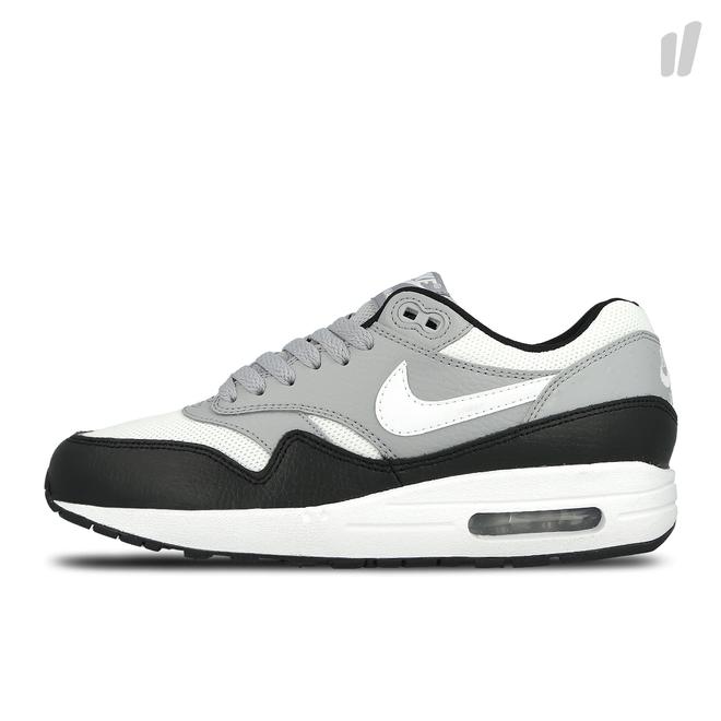 Nike Wmns Air Max 1 Prm (Black/Wolf Grey-White)-US 7 EU 38