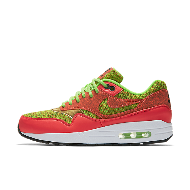 Nike Wmns Air Max 1 SE (Ghost Green/Hot Punch-Ghost Green)-US 6 / EU 36.5