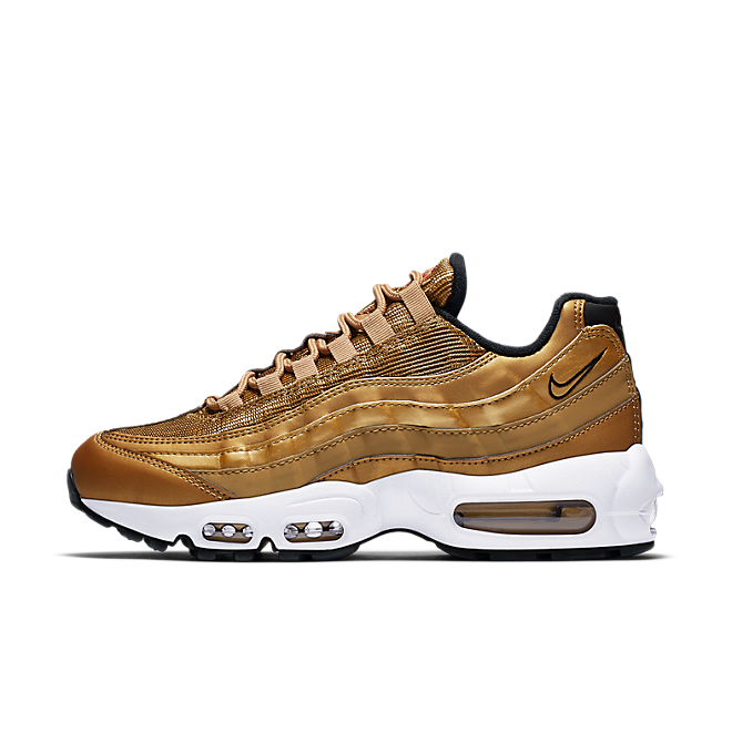 Nike Wmns Air Max 95 QS (Metallic Gold/Varsity Red)-EU 41