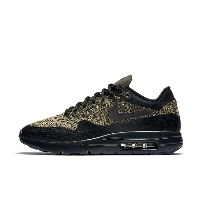 Nike Air Max 1 Ultra Flyknit (Neutral Olive/Black-Sequoia)