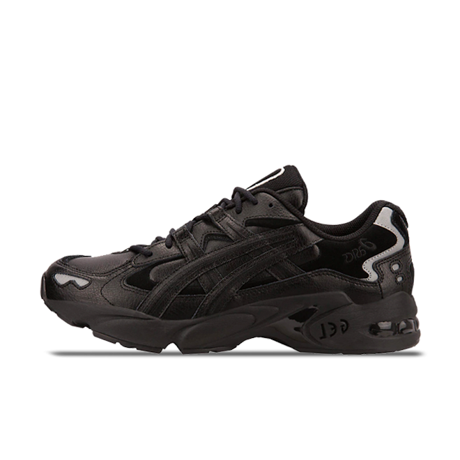 Asics Gel-Kayano V OG Leather 'Black' zijaanzicht