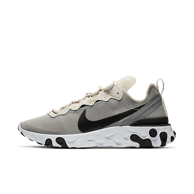 Nike React Element 55 'Light Orewood Brown' zijaanzicht