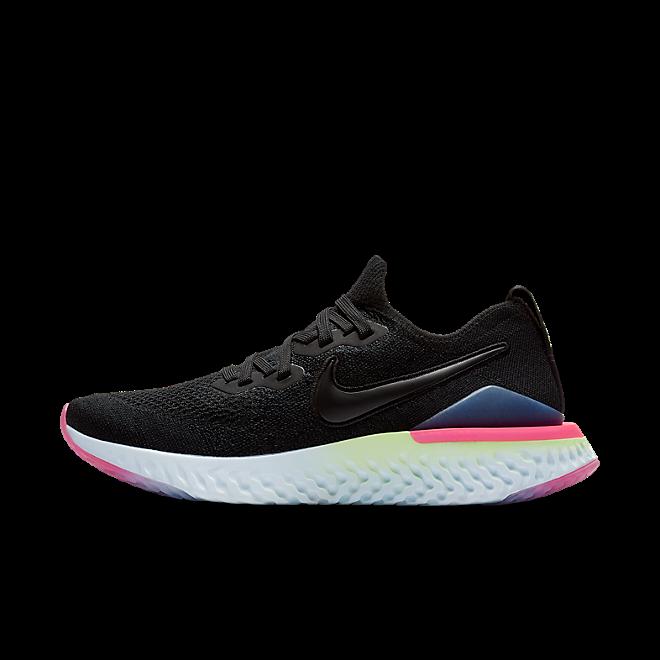 Nike Wmns Epic React Flyknit 2 'Sapphire & Lime Blast' BQ8927-003