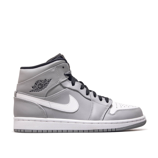 Nike Air Jordan 1 Mid Grey White