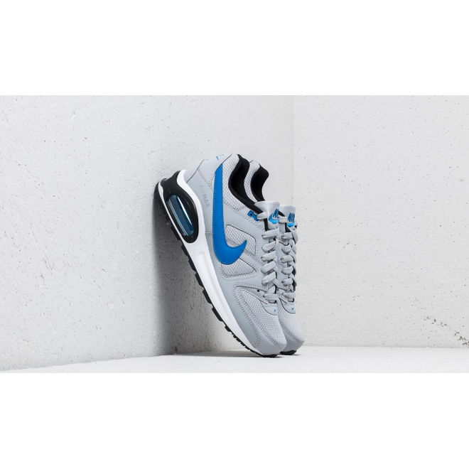 Nike Air Max Command Flex (GS) Wolf Grey Signal Blue Black