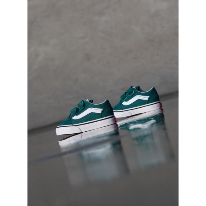 Vans Old skool Green/White TS