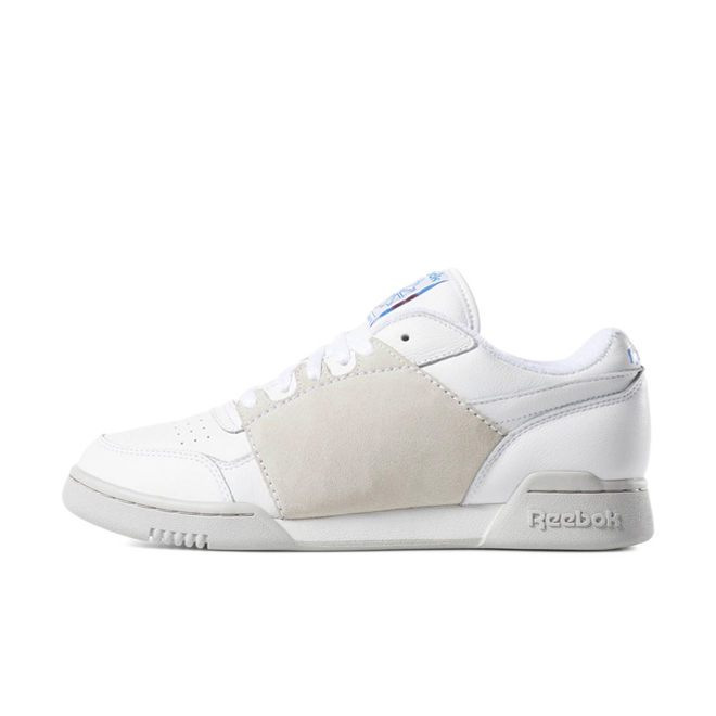 Nepenthes X Reebok Workout Plus 'White' zijaanzicht