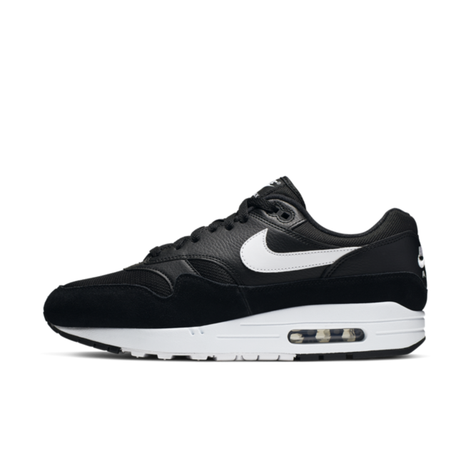 Nike Air Max 1 'Black' zijaanzicht