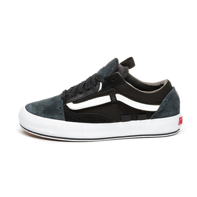 Vans Vault Old Skool Cap LX *Regrind* (Black / True White)