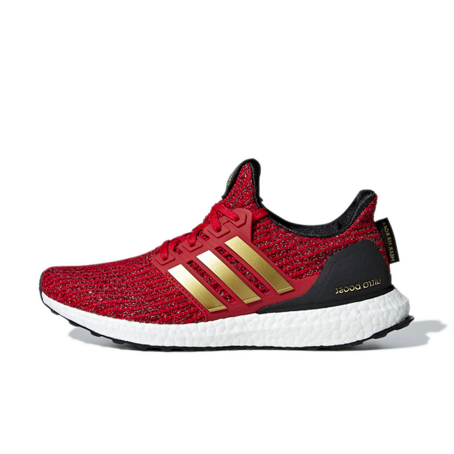 Game Of Thrones x adidas Ultra Boost 'House Lannister' zijaanzicht