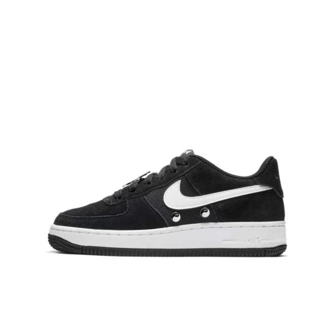 Nike Air Force 1 GS Black 'Have A Nike Day'