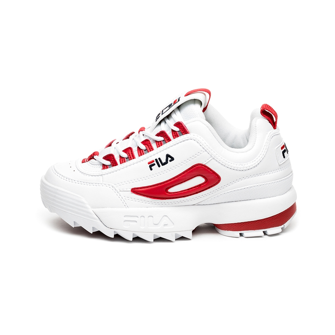 FILA Disruptor CB Low Wmn (White / Fila Red)