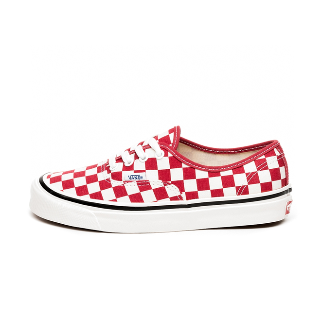 Vans Authentic 44 DX *Anaheim Factory* (OG Red / Check)