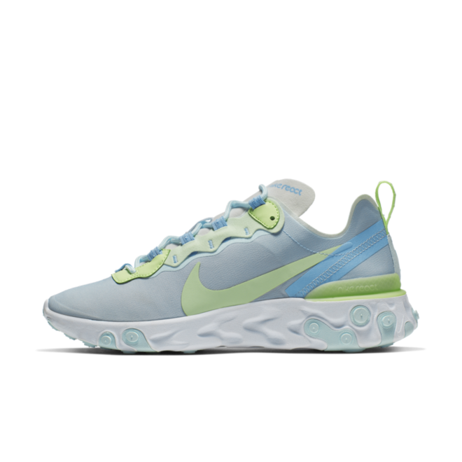 Nike React Element 55 'Frosted Spurce' zijaanzicht