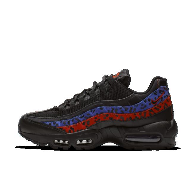 Nike WMNS Air Max 95 Premium 'Black Leopard' zijaanzicht