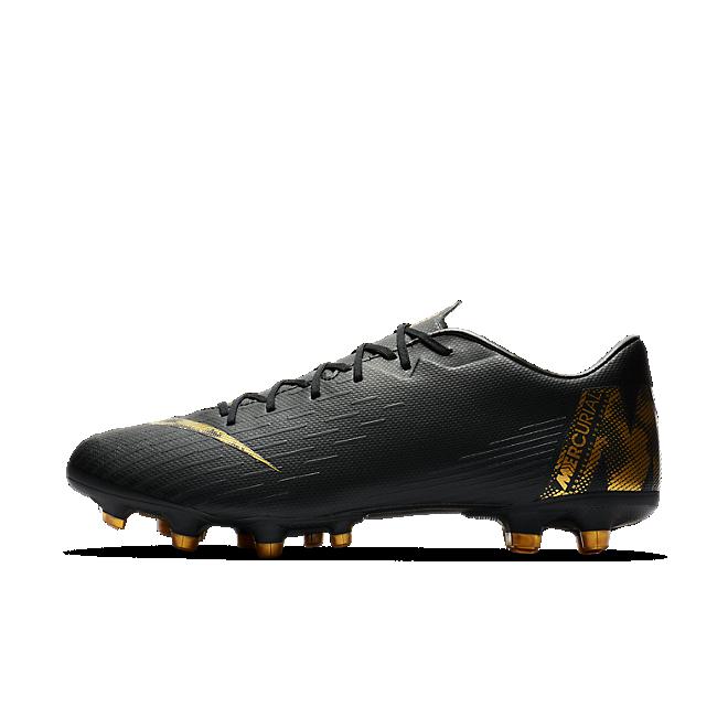 Nike Vapor 12 Academy MG Fußballschuh für verschiedene Böden - Schwarz