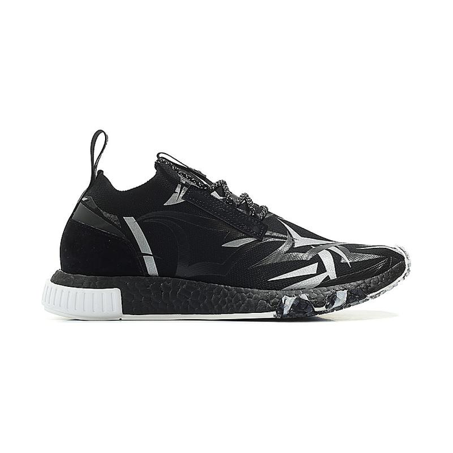 adidas Consortium x Juice HK NMD Racer Core Black/ White