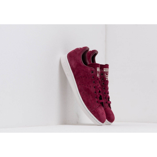 adidas Stan Smith Maroon Crystal White Cream Brown | DB3569