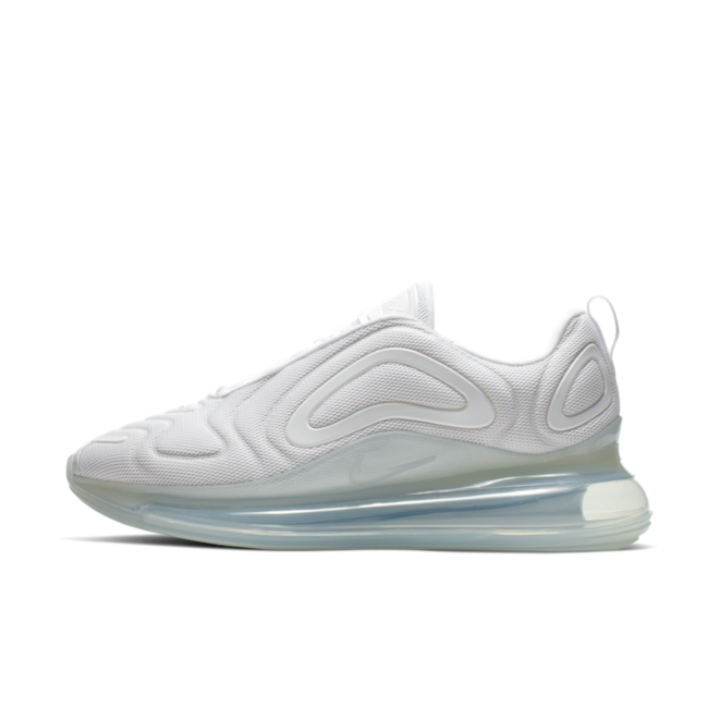 Nike Air Max 720 'Triple White' zijaanzicht