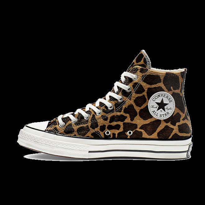 Converse Chuck 70 Pony Hair 'Giraffe' zijaanzicht