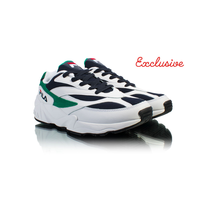 FILA V94M Low White / Green 1010255