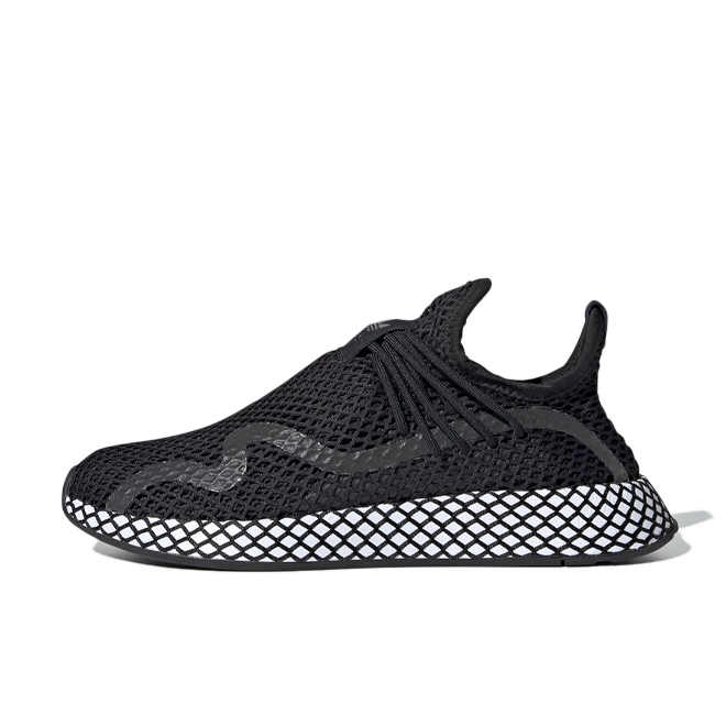 adidas Deerup S 'Black' zijaanzicht