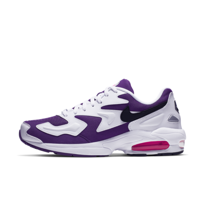 Nike Air Max 2 Light 'Purple' zijaanzicht