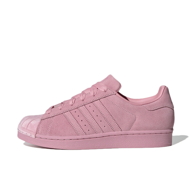 new concept 04882 fc7b1 adidas Superstar  Clear Pink