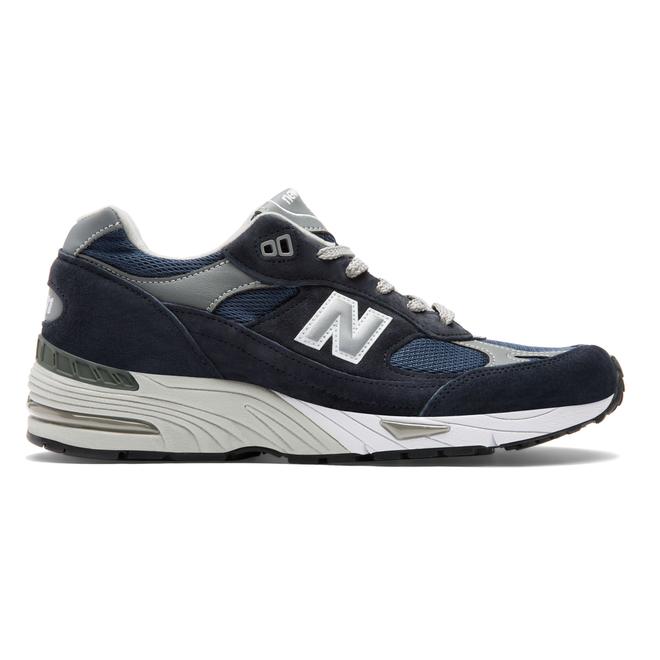 New Balance Made in England Navy & Grey