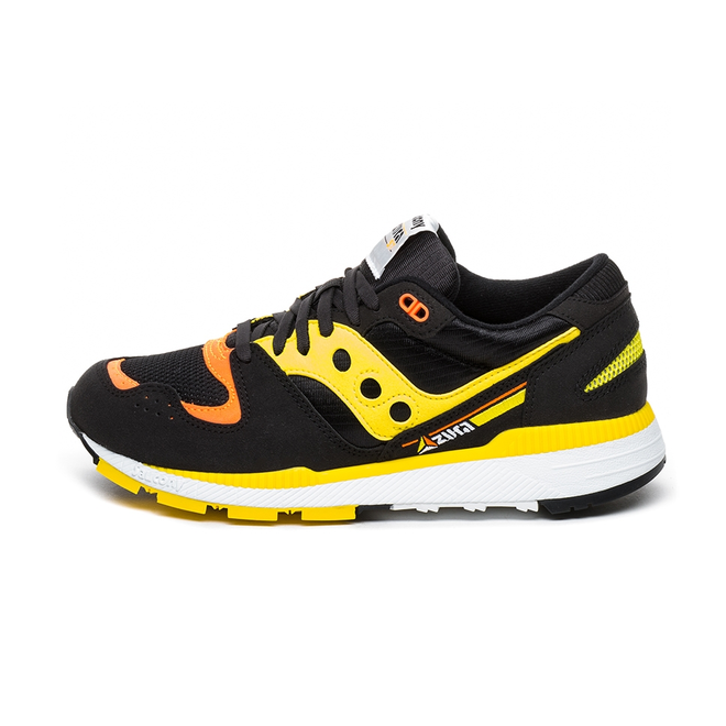 Saucony Azura (Black / Yellow / Orange)