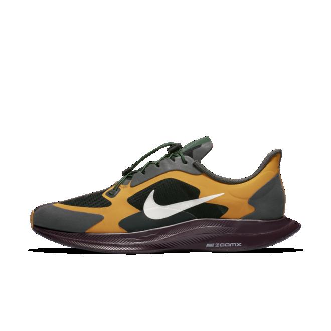 Nike Zoom Pegasus 35 Tubro X Gyakusou 'Iron Grey' zijaanzicht