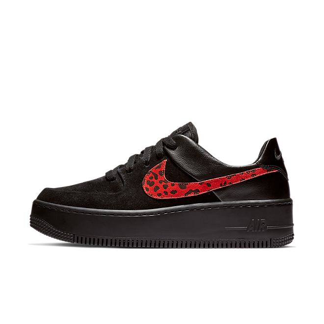 Nike WMNS Air Force 1 Sage Premium 'Black Leopard'